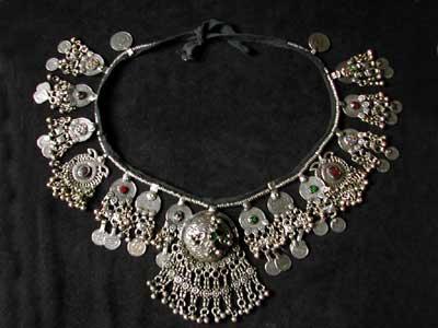 Kuchi pendant beltits 32 wide with ties on each side silvex tribal back to kuchi belts aloadofball Images